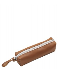 Qwstion Qwstion Pencil Case brown leather canvas