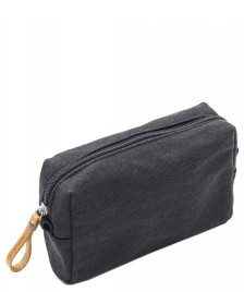 Qwstion Qwstion Amenity Pouch washed black