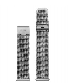 Cluse Cluse Strap Minuit Mesh silver