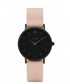 Cluse Cluse Watch Minuit pink nude/black full