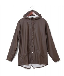 Rains Rains Rainjacket Short brown