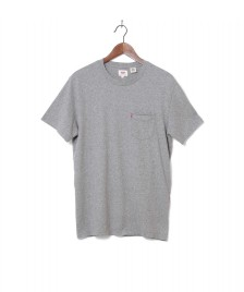 Levis Levis T-Shirt Sunset Pocket Medium grey heather