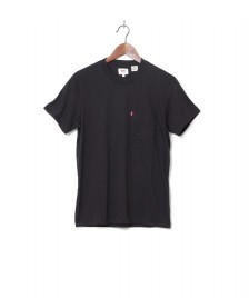 Levis Levis T-Shirt Setin Sunset Pocket black