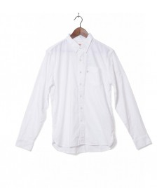 Levis Levis Shirt Sunset 1 Pocket white