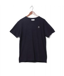 Wood Wood Wood Wood T-Shirt Slater blue navy