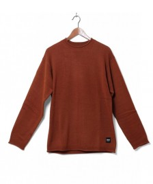 Wemoto Wemoto Knit Pullover Rawls orange burnt henna