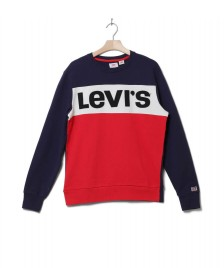 Levis Levis Sweater Colorblock blue