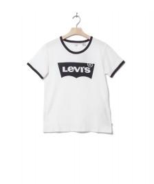 Levis Levis W T-Shirt Perfect Ringer white better ringer hous