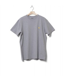 Carhartt WIP Carhartt WIP T-Shirt Chase grey heather/gold