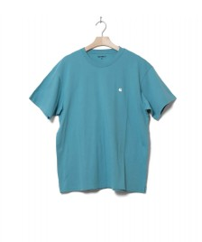 Carhartt WIP Carhartt WIP T-Shirt Madison green soft teal/white