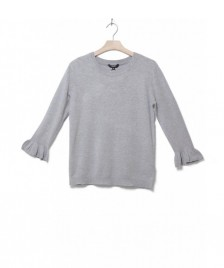 MbyM MbyM W Knit Pullover Shea Freeman grey light melange