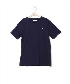 Wood Wood Wood Wood T-Shirt Ace blue navy