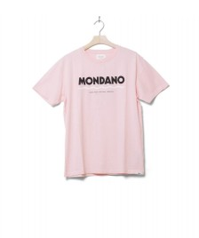 Wood Wood Wood Wood T-Shirt Mondano pink light