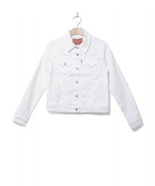 Levis Levis W Jacket Original Trucker white soft