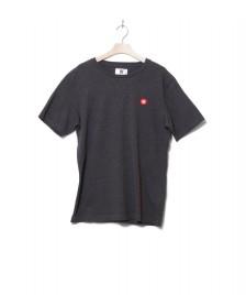 Wood Wood Wood Wood T-Shirt Ace grey dark melange