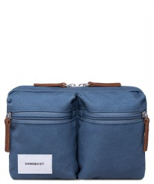 Sandqvist Sandqvist Bag Paul blue dusty
