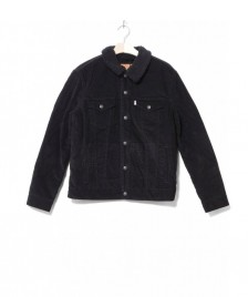 Levis Levis Sherpa Jacket Cord Trucker black cord better