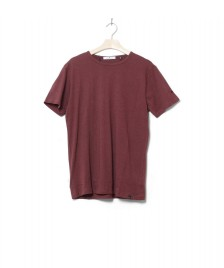 Revolution (RVLT) Revolution T-Shirt 1001 red bordeaux melange