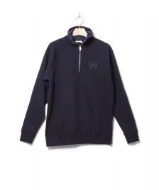 Wood Wood Wood Wood Pullover Curtis blue navy