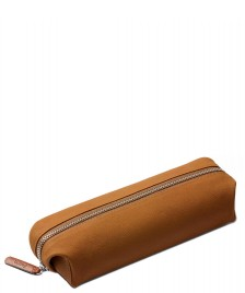 Bellroy Bellroy Pencil Case Plus Leather brown tan