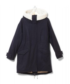 Sessun Sessun W Coat Sundance blue navy/white