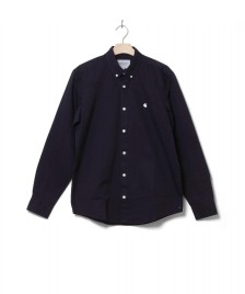 Carhartt WIP Carhartt WIP Shirt Madison blue dark navy