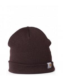 Carhartt WIP Carhartt WIP Beanie Stratus Hat Low brown tobacco