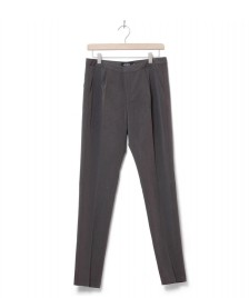 MbyM MbyM W Pants Gita Long grey charcoal melange