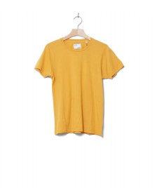 Colorful Standard Colorful Standard W T-Shirt CS 2051 yellow burned