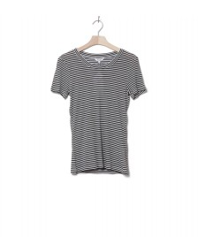 MbyM MbyM W T-Shirt Samira black sugar stripe
