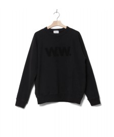 Wood Wood Wood Wood Sweater Hester black