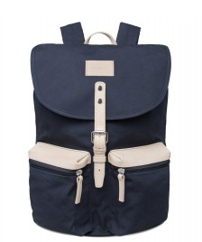 Sandqvist Sandqvist Backpack Roald Grand blue/natural leather