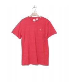 Levis Levis T-Shirt Original red lychee