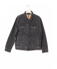 Levis Levis Denimjacket The Trucker black fegin