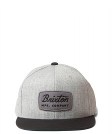 Brixton Brixton Snap Cap Jolt grey heather/black
