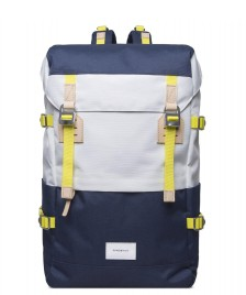 Sandqvist Sandqvist Backpack Harald blue/multi white off