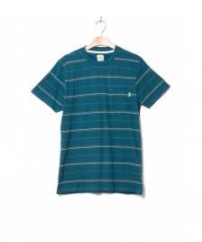 Wemoto Wemoto T-Shirt Fergus blue atlantic green