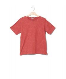 Wemoto Wemoto W T-Shirt Holden Printed red-off white