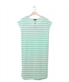 Selected Femme Selected Femme Dress Sfivy green gumdrop stripes