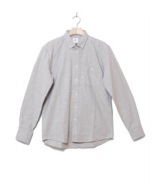 Klitmoller Collective Klitmoller Shirt Benjamin grey light melange
