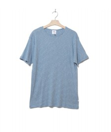Klitmoller Collective Klitmoller T-Shirt Alfred No pocket blue heaven/cream