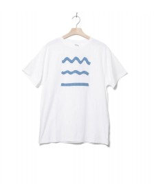 Klitmoller Collective Klitmoller T-Shirt Rising Waves white