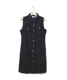 Levis Levis W Dress SL Short Aubrey black shiny happy people x