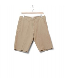 Carhartt WIP Carhartt WIP Shorts Johnson Midvale beige leather