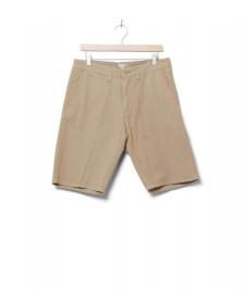 Carhartt WIP Carhartt WIP Shorts Johnson Midvale beige leather