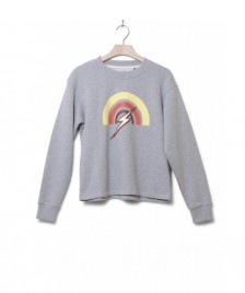 Lightning Bolt Lightning Bolt W Sweater Rainbow grey heather