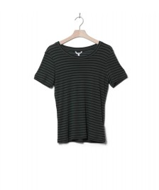MbyM MbyM W T-Shirt Samira green black climbing stripe