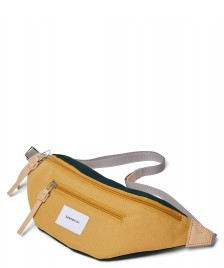 Sandqvist Sandqvist Bag Aste multi honey yellow/dark green