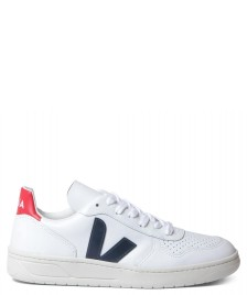 Veja Veja Shoes V-10 Leather white extra nautico pekin