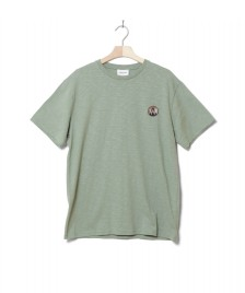 Wood Wood Wood Wood T-Shirt Slater green dusty